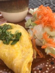 Fluffy omelet at Ki'bok