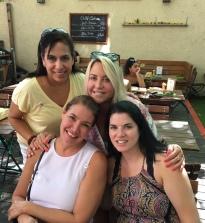 Liz, Dawn, Julie and me