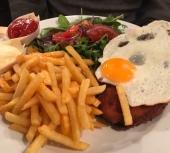 Chicken Schnitzel at Wurst and Schnitzelhuis