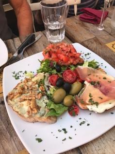 Bruschetta at Grazia & Graziella