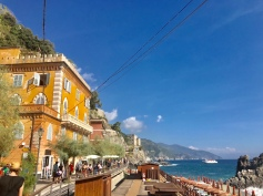 Along the promenade at Monterosso