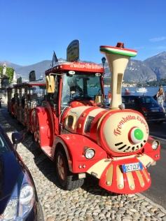 Crazy train from Menaggio to Tremezzo