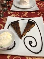 Delicious dessert from Borgovino