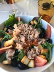 Fresh tuna salad from Victoria Grill