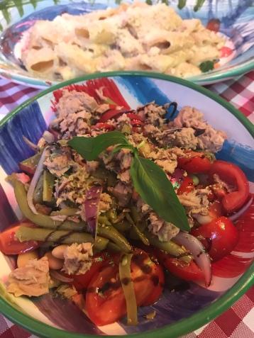 Salad at Osteria da Rita