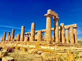 The ruins of Agrigento