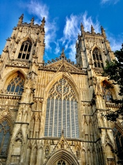 The impressive and massive York Minster