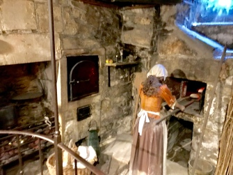 Sally Lunn making her bunns