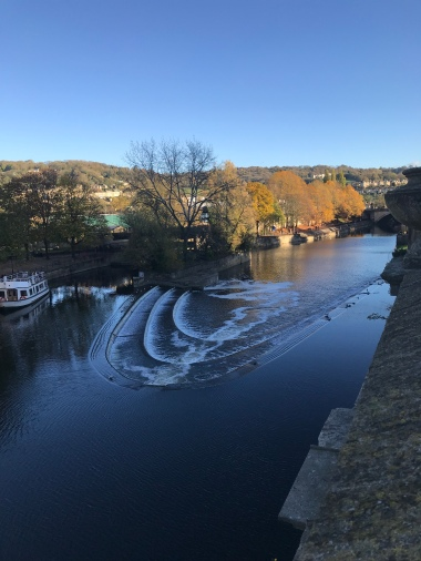 River Avon by the Pulteney Bridge