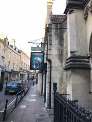 Oldest pub in Bath - The Saracens Head