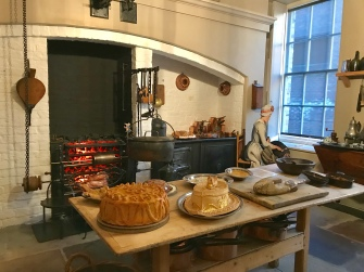 Kitchen of the Fairfax House