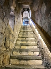 Stairs leading to the RIchard III Experience