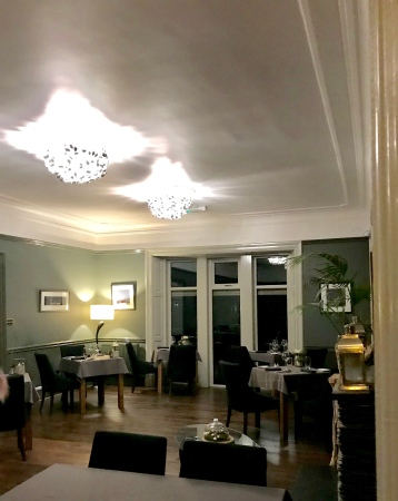 Flodigarry Hotel dining room