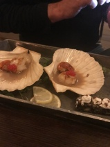 Scallop appetiser
