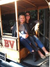 Photo op at BV Winery