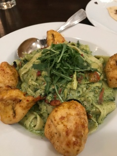 Chicken and pasta at Laili