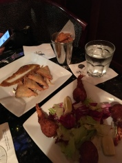 Bar snacks at Arnaud's French 75