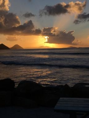 Sunset from D'Coal Pot