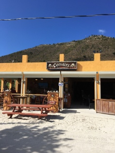 Corsairs on Jost Van Dyke. Fun place with good food and friendly people