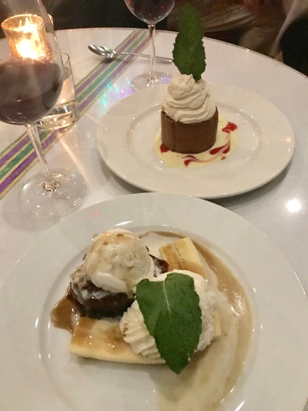 Desserts at Irene's