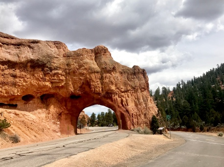 The road to Bryce Canyon