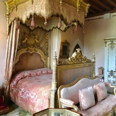 Queen Victoria's bedroom during her visit