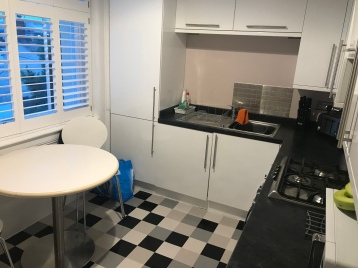 Nice kitchen in our rental
