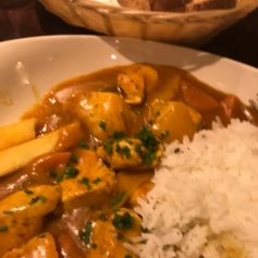 Chicken Curry at Cronins