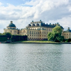 Drottningholm from the water