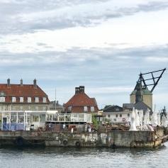 Across from the Refshaleoen ferry