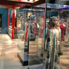 Mongolian costumes at the Denmark National Museum