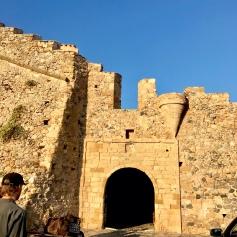 The entrance to Monemvasia