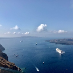View of the caldera from Fira