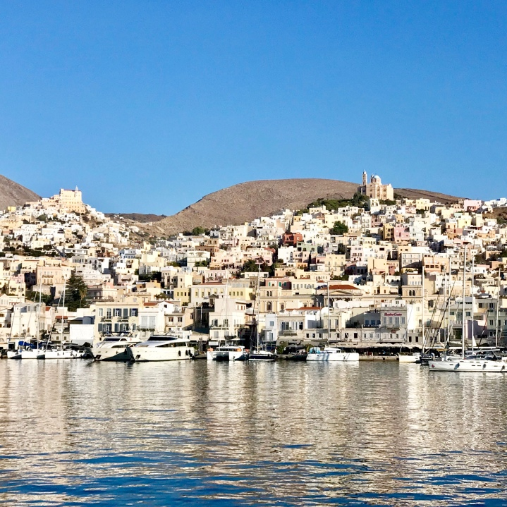 Approaching Syros