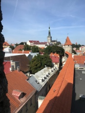 Views of Tallinn from the City Walls