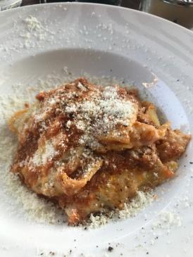 Lasagna at Trattoria Pontini