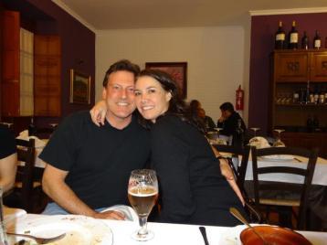 One of the few but wonderful restaurants in Velez-Malaga
