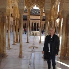 The Alhambra (and the ever lovely Dawn)