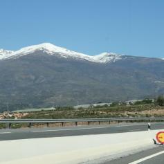 Driving to Granada