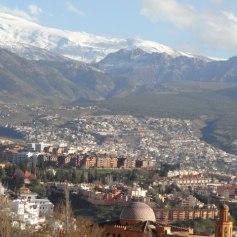Granada and the Sierra Nevada mountains