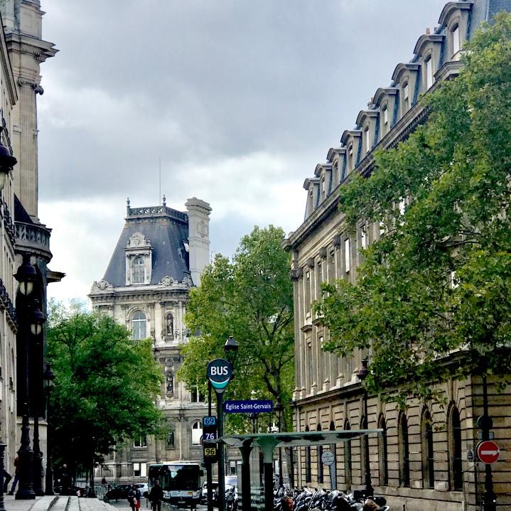 Typical Paris street
