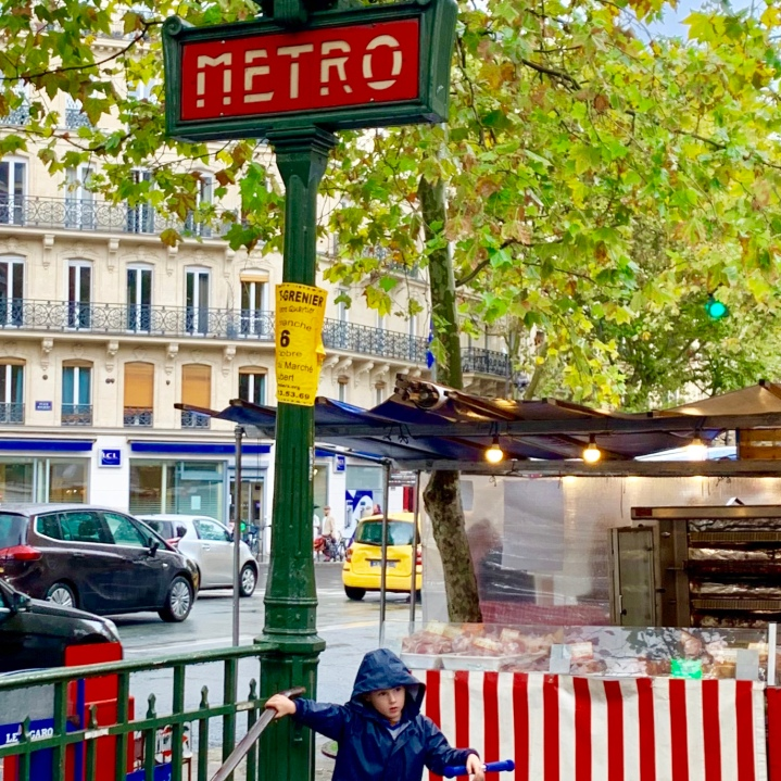 Watch for the Metro signs which will save your feet and let you make the most of your time in Paris