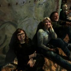 Enjoying the Van Gogh exhibit at Atelier des Lumieres