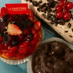 Yummy French pastries in Toulouse