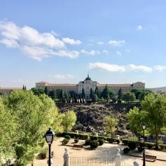 View from the Alcazar de Toledo