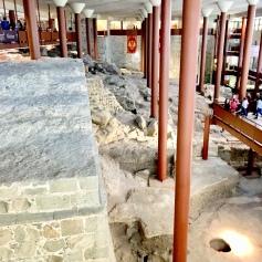 Inside the Alcazar - ancient ruins