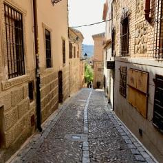 The streets of Toledo