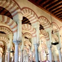 The spectacular Mosque of Córdoba