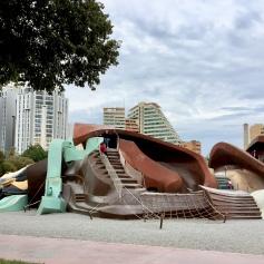 A children's park in Parc Gulliver