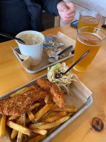 Fish and Chips at Alaska Fish House